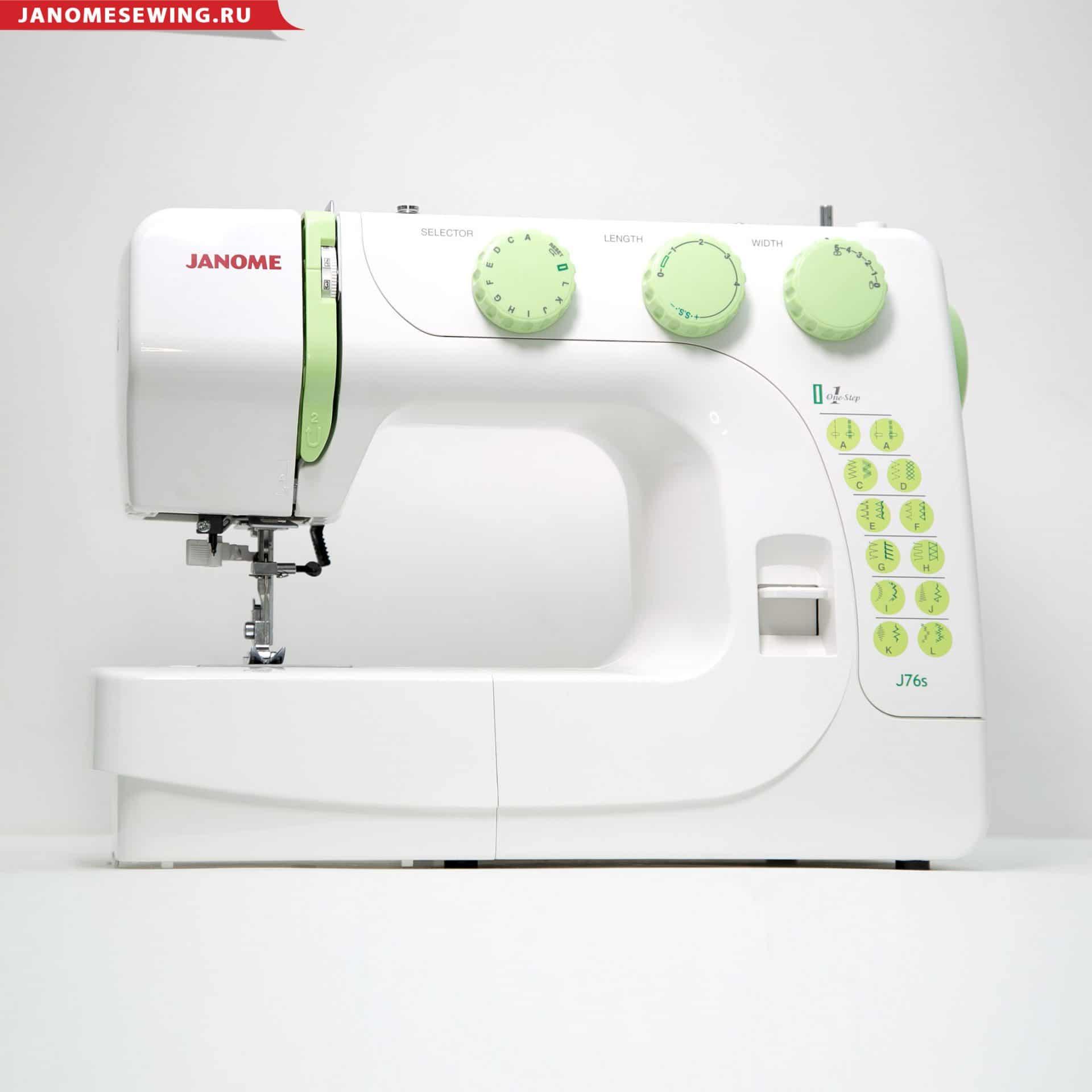 Швейная машина Janome J76
