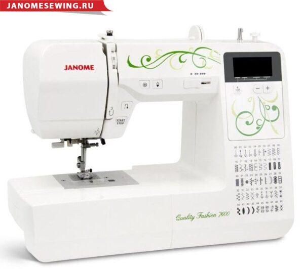 Janome QF 7600